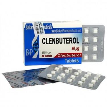 Clenbuterol Кленбутерол 40 мкг, 100 таблеток, Balkan Pharmaceuticals в Актау