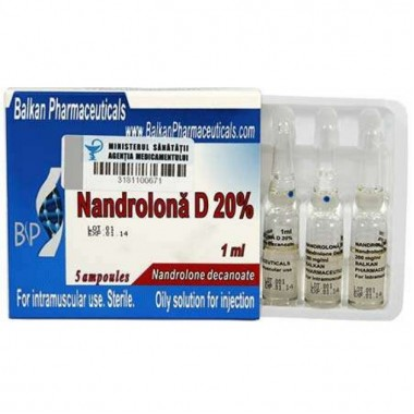 Nandrolona D 20% Нандролон Деканоат 200 мг/мл, 10 ампул, Balkan Pharmaceuticals в Актау