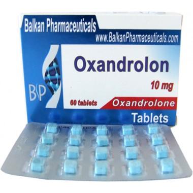 Oxandrolon Оксандролон 10 мг, 100 таблеток, Balkan Pharmaceuticals в Актау