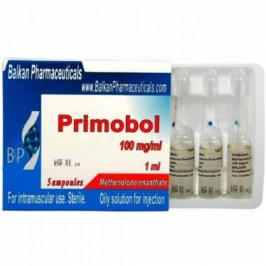 Primobol Примоболан 100 мг/мл, 10 ампул, Balkan Pharmaceuticals в Актау
