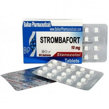 Strombafort Стромбафорт 10 мг, 100 таблеток, Balkan Pharmaceuticals в Актау