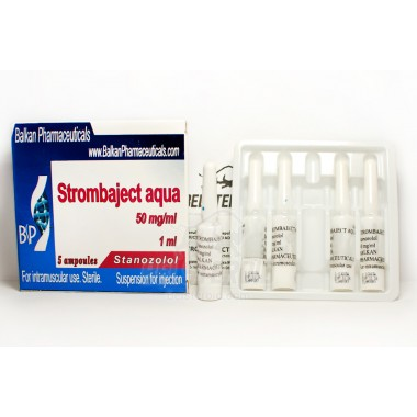 Strombaject aqua Стромбаджект аква 50 мг/мл, 10 ампул, Balkan Pharmaceuticals в Актау
