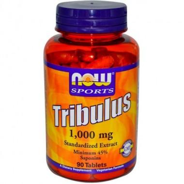 Tribulus Трибулус 1000 мг, 90 таблеток, Now Sports в Актау