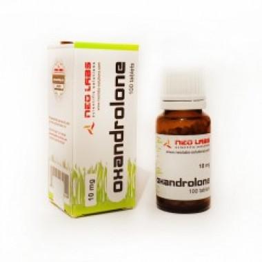 Oxandrolone Оксандролон 10 мг, 100 таблеток, Neo Labs в Актау