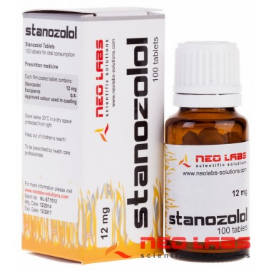 Stanozolol Станозолол 12 мг, 100 таблеток, Neo Labs в Актау