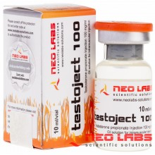 Testoject 100 Testosterone Propionate 100 мг/мл, 10 мл, Neo Labs