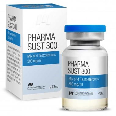 PHARMASUST 300 Тестостерон Микс 300 мг/мл, 10 мл, Pharmacom LABS в Актау