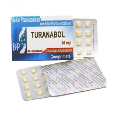 Turanabol Туринабол 10 мг, 100 таблеток, Balkan Pharmaceuticals в Актау