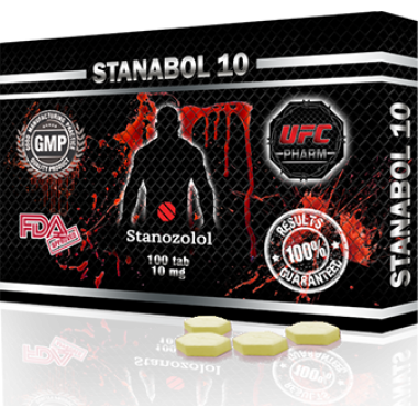STANABOL 10 Станабол 10 мг, 100 таблеток, UFC PHARM в Актау