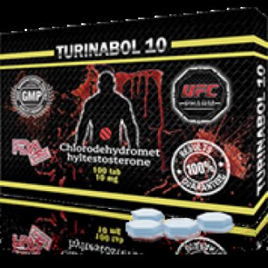 TURINABOL Туринабол 10 мг, 100 таблеток, UFC PHARM в Актау