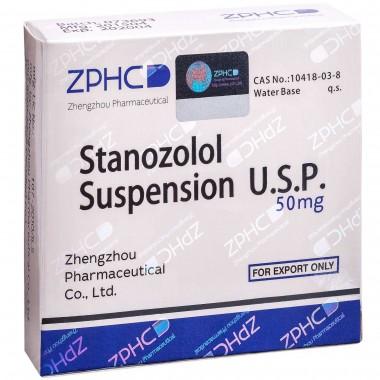 Stanozolol Suspension Станозолол суспензия 50 мг, 10 ампул, ZPHC в Актау