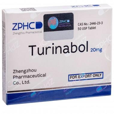 Turinabol Туринабол 20 мг, 50 таблеток, ZPHC в Актау