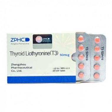 Thyroid Liothyronine T3 Трийодтиронин 50 мкг, 50 таблеток, ZPHC в Актау